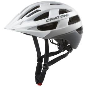 Cratoni Velo-X Helmet white matte